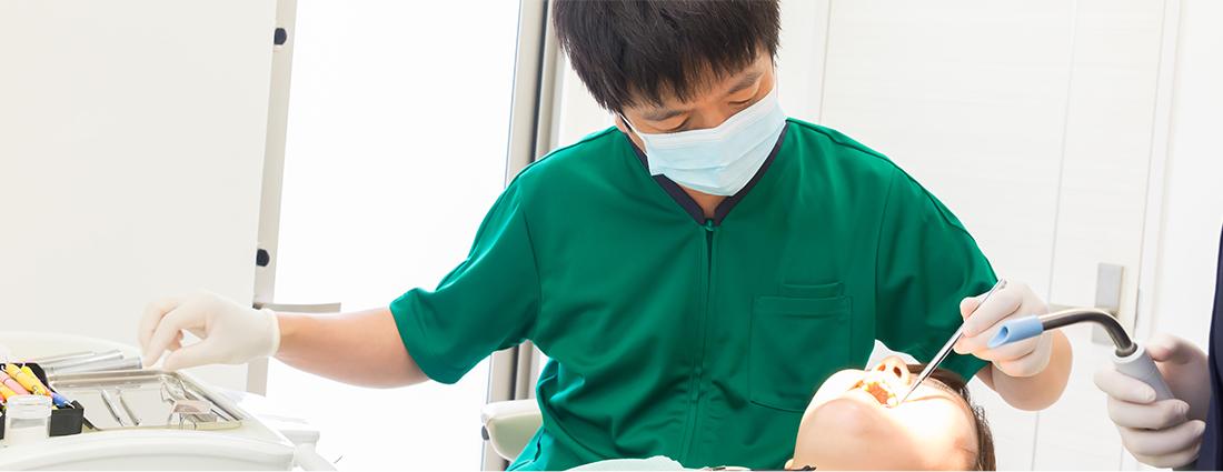 痛みに配慮した治療を実現する診療設備