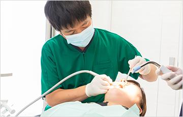 術前に口腔内環境を整えます