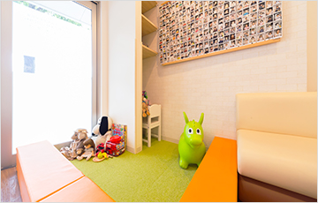 子供が遊べる空間「キッズスペース」