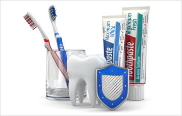 歯の質を強くするフッ素